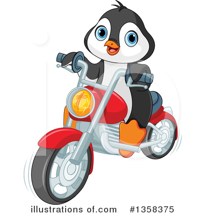 Penguin Clipart #1358375 by Pushkin