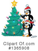 Royalty-Free (RF) Penguin Clipart Illustration #1365908