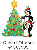 Royalty-Free (RF) Penguin Clipart Illustration #1365909