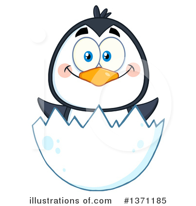 Penguin Clipart #1371185 by Hit Toon