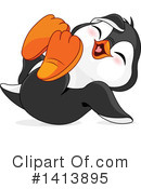 Penguin Clipart #1413895 by Pushkin