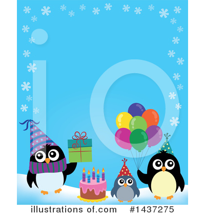 Birthday Cake Clipart #1437275 by visekart