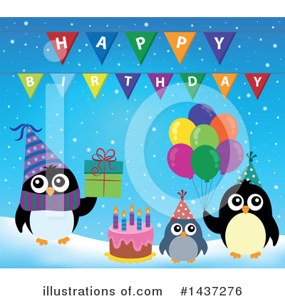 Birthday Cake Clipart #1437276 by visekart