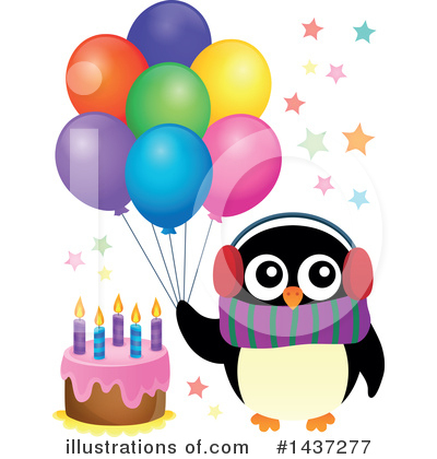 Birthday Cake Clipart #1437277 by visekart