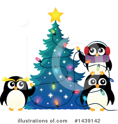 Penguin Clipart #1439142 by visekart
