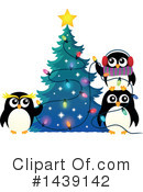 Royalty-Free (RF) Penguin Clipart Illustration #1439142