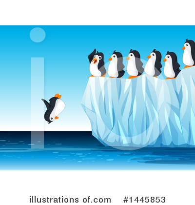 Penguin Clipart #1445853 by Graphics RF