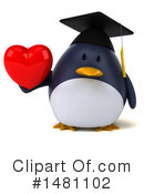 Penguin Clipart #1481102 by Julos