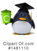 Penguin Clipart #1481110 by Julos