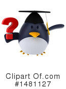 Penguin Clipart #1481127 by Julos
