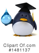 Penguin Clipart #1481137 by Julos