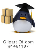 Penguin Clipart #1481187 by Julos