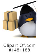 Penguin Clipart #1481188 by Julos