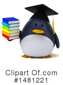 Penguin Clipart #1481221 by Julos
