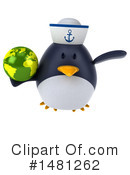 Penguin Clipart #1481262 by Julos