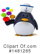 Penguin Clipart #1481265 by Julos