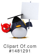 Penguin Clipart #1481291 by Julos
