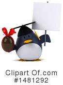 Penguin Clipart #1481292 by Julos