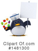 Penguin Clipart #1481300 by Julos