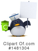 Penguin Clipart #1481304 by Julos