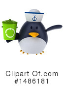 Penguin Clipart #1486181 by Julos
