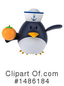 Penguin Clipart #1486184 by Julos