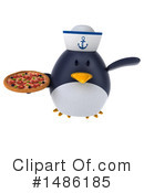 Penguin Clipart #1486185 by Julos