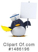 Penguin Clipart #1486196 by Julos