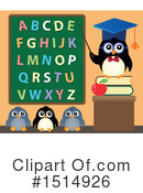 Royalty-Free (RF) Penguin Clipart Illustration #1514926