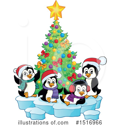 Penguin Clipart #1516966 by visekart