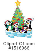 Royalty-Free (RF) Penguin Clipart Illustration #1516966