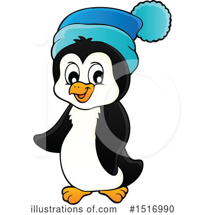 Penguin Clipart #1516990 by visekart