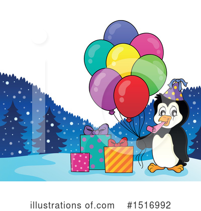 Penguin Clipart #1516992 by visekart