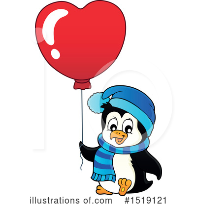 Penguin Clipart #1519121 by visekart