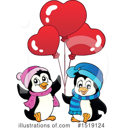 Penguin Clipart #1519124 by visekart