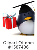 Penguin Clipart #1587436 by Julos