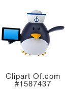 Penguin Clipart #1587437 by Julos