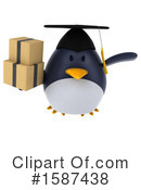Penguin Clipart #1587438 by Julos