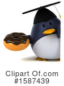 Penguin Clipart #1587439 by Julos