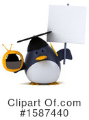 Penguin Clipart #1587440 by Julos