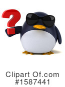 Penguin Clipart #1587441 by Julos