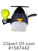 Penguin Clipart #1587442 by Julos