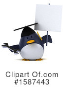 Penguin Clipart #1587443 by Julos