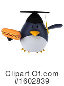Penguin Clipart #1602839 by Julos