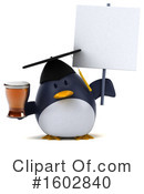 Penguin Clipart #1602840 by Julos