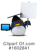 Penguin Clipart #1602841 by Julos