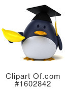 Penguin Clipart #1602842 by Julos