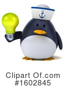 Penguin Clipart #1602845 by Julos