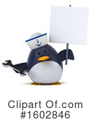Penguin Clipart #1602846 by Julos