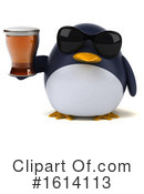 Penguin Clipart #1614113 by Julos